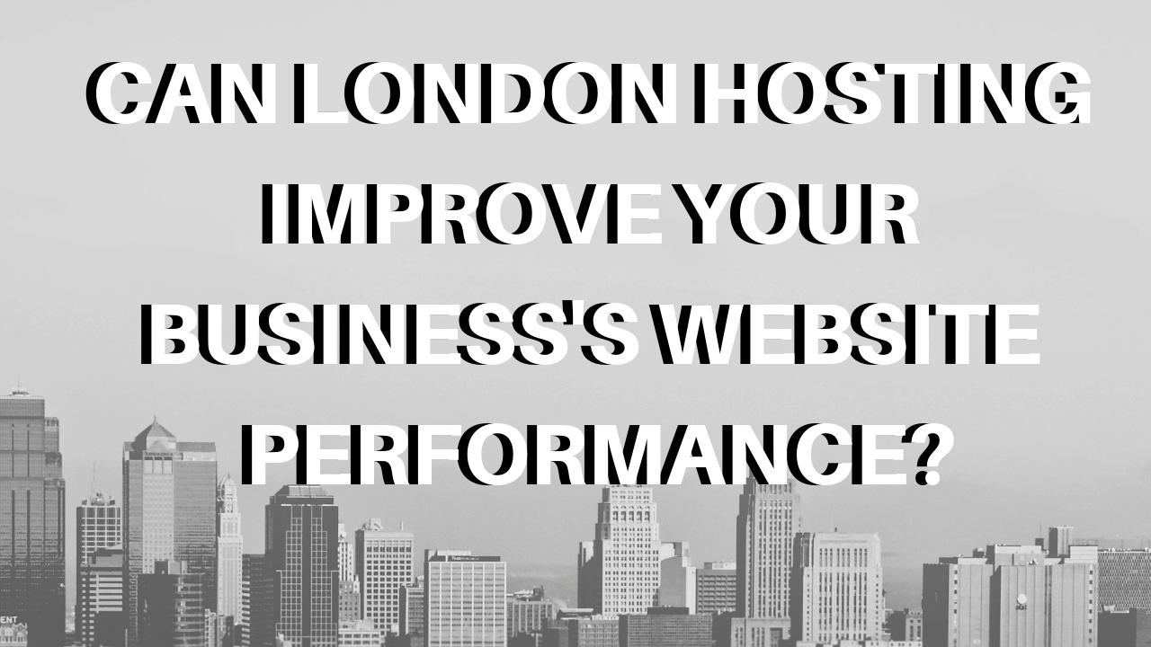 Local Web Hosting London