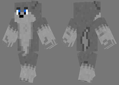 wolf-skin