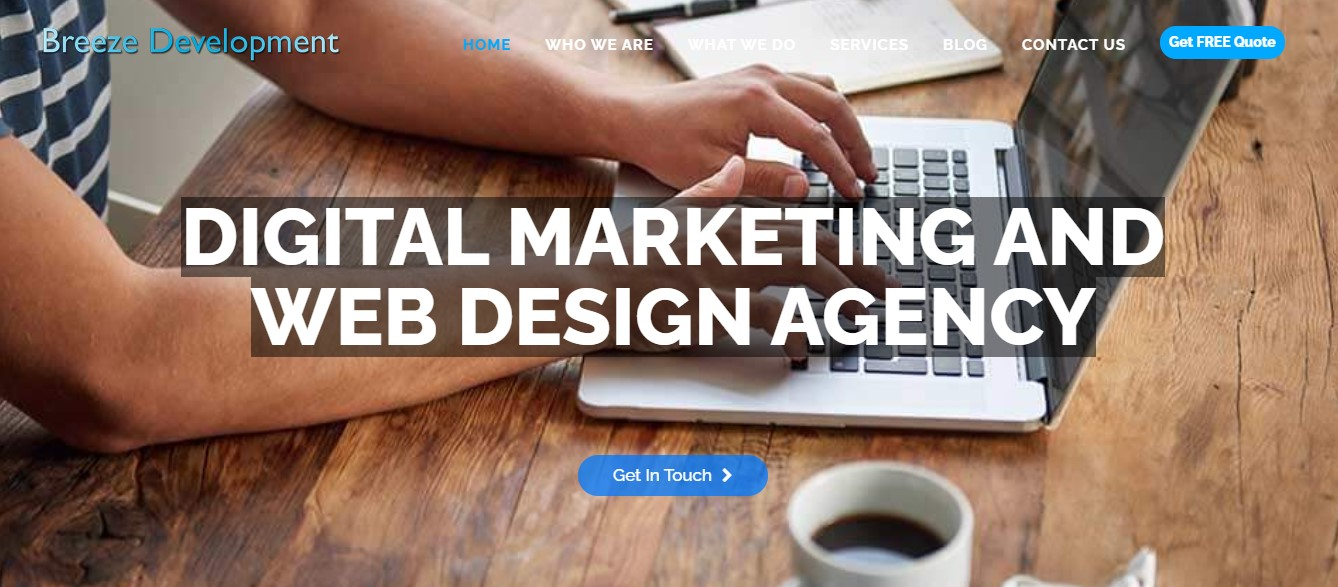 Breeze Development Digital Marketing agency