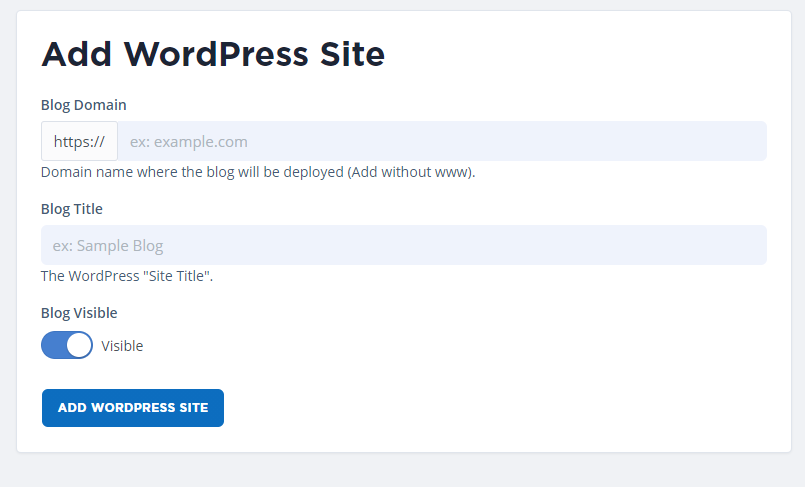 add-and-integrate-domain-with-wordpress-and-one-click-installer-in-portal
