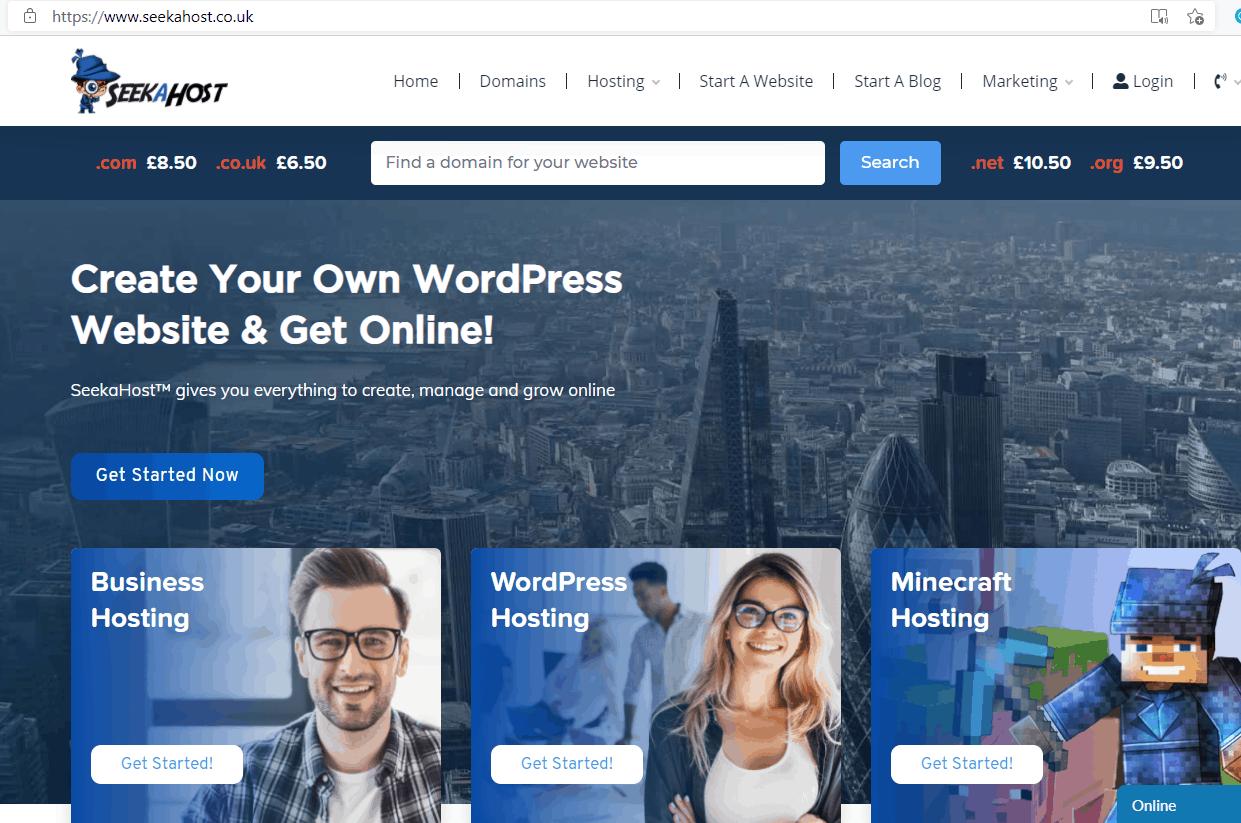 buy-uk-domain-names-and-hosting-at-SeekaHost