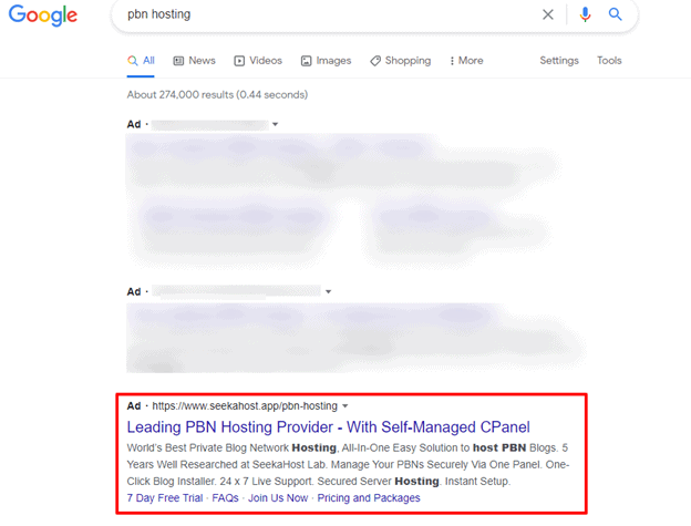 private-blog-network-ads-on-Google